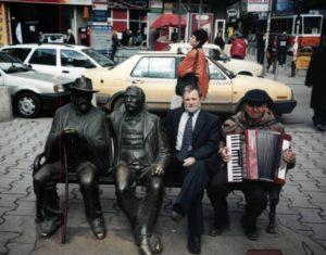 В Болгарии, в Софии, в обществе писателей-классиков