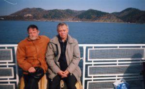 С Валентином Григорьевичем Распутиным на Байкале